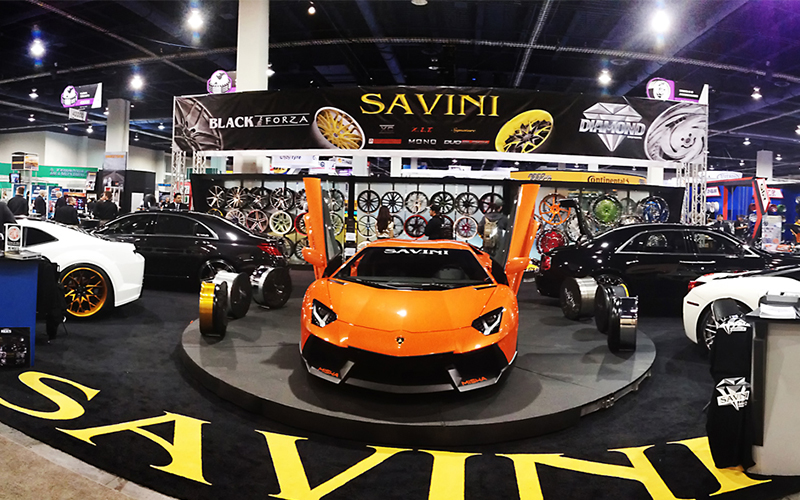 Awesome Video Coverage From 2014 Sema By Savini Rims