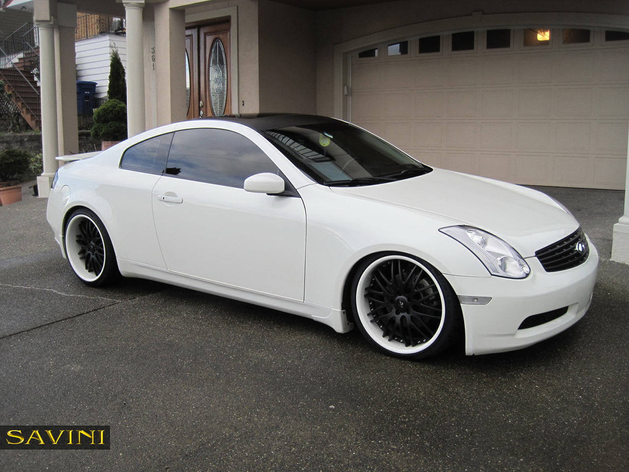 G35 Savini Wheels