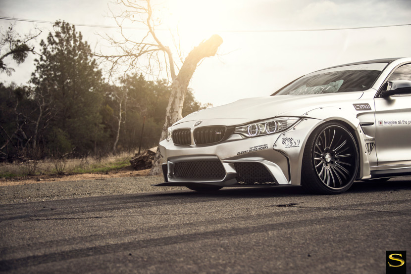 silver-libertywalk-wideboy-bmw-m4-savini-forged-wheels-sv61c-blackwith-braushed-accents-2